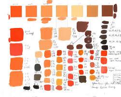 Color Aid Chart Color Color Tint Chart Design Gutter