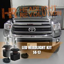 2014 2017 Toyota Tundra Ultra Series Led Headlight Bulbs Upgrade Gtr Lighting