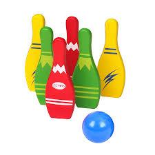 Trò chơi Bowling bằng gỗ 4726685628 - Viet Toy Shop - Đồ chơi trẻ em