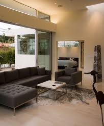 superb tufted sectional in living room modern with pocket door alternative next to behr swiss coffee