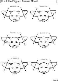 Pig Ear Notch Chart This Little Piggy Math In The Pig Barn Pdf Free Download