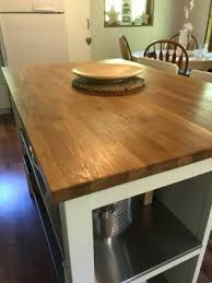 a the challenge with every wooden countertop is creating a finish that s both durable and repairable polyurethane provides great protection