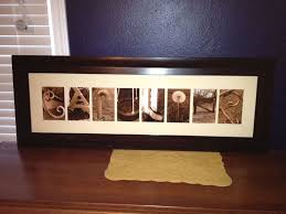 custom made led backlit picture frame pictures spell the name