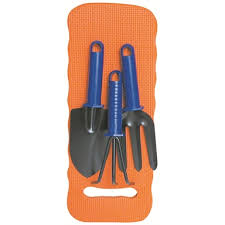 tempest 3 piece gardening tool set with
