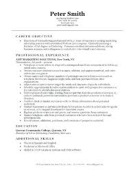 Objective Statements For Resumes Purpose Statement Resume 98