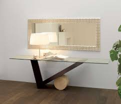 modern glass console table  decoration for your modern console