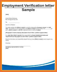 Examples Of Employment Verification Letter 13 Joele Barb