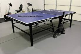 build outdoor ping pong table beautiful kettler champ 5 0 outdoor ping pong table