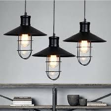 industrial pendant lighting for kitchen. Minimalist Black Industrial Pendant Light D4398225 Rustic Lights Vintage Lamp Led Lighting For Kitchen