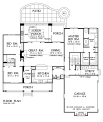 the coleraine first floor plan