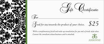 Custom Gift Certificate Templates Free Business Gift Certificate Template With Logo Create