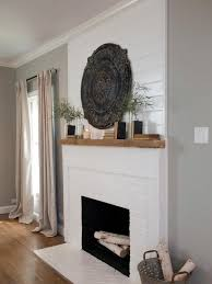 fireplace white get inspired the diy white brick fireplace painting a fireplace white fireplace white painted brick