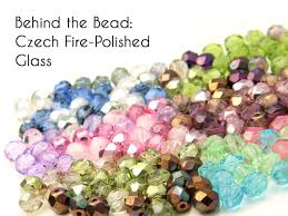 fire polished glass beads