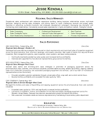 Regional Sales Manager Resume Sales Manager Objective Enderrealtyparkco 10
