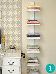 small space shelving narrow shelves ideas pertaining to for spaces