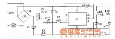 the electric sd regulator circuit of ceiling fans