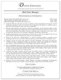 Hotel Sales Manager Cover Letter Gross Supervisor Cowl Pattern