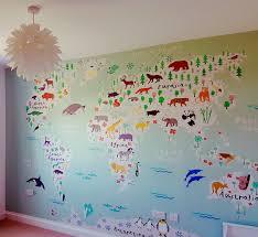 kid wallpaper usa mylar. Map Wallpaper Kids With World Room Kid Usa Mylar G