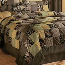 camo patchwork quilt set cute for the camper nice im no t a big fan