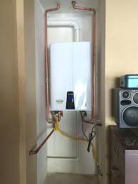 how to install tankless water heater water heaters can you install tankless water heater outside