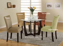 outstanding dining room decoration with round gl top dining table sets interesting image of dining