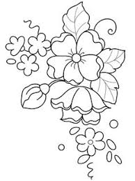 3329ef3f7a7dde4c05f29829cda208b7 brush embroidery flower template google search fondant on how to do templates