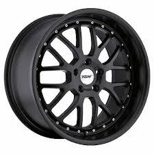 20x8 5 Tsw Valencia 5x120 Rims 35 Matte Black Wheels Set
