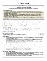 Public Relations Resume Elegant 51 Inspirational It Asset Management