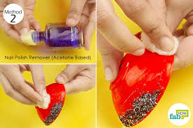 single step treatment wipe the superglue off the plastic with nail polish remover