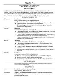 dietitian resume dietitian resume example fishingstudio com
