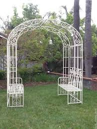Wrought Iron Bench U2013 The Vintage Styles To Add Flair In Your HomeOutdoor Wrought Iron Bench