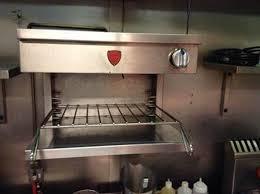 Salamander Kitchen Appliance Secondhand Catering Equipment Salamander Grills