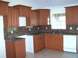 brown painted kitchen cabinets. Kitchen Cabinets Brown Painted Before And After Cabinet Brown Painted Kitchen Cabinets E