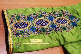 Facebook Embroidery Designs Pin By Anu On Embroidery Cutwork Blouse Designs Wedding