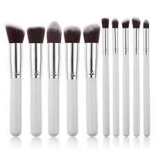 10pcs profe cosmetic makeup maquiagem brushes tools set kit foundation paintbrushes of makeup brush use for