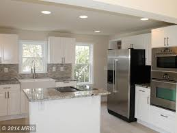 Limestone Kitchen Floor Contemporary Kitchen With L Shaped Limestone Tile In Warrenton