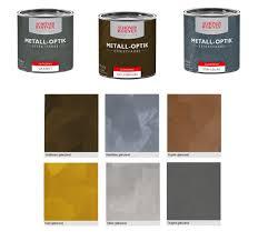 Wohnen Wandfarbe 375 ml Metall-Effekt Effektfarbe, Farbwahl Glänzend