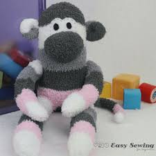 how to make a sock monkey square no