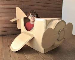 Throw in some inspiration, crafty know-how and a big cardboard box and you  have some pretty creative stuff for ...