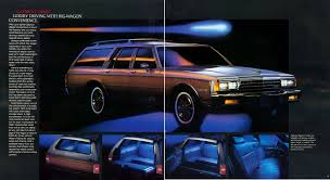 1985-88 Chevrolet Caprice Estate / Ford LTD Country Squire wagons ...