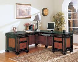 shaped computer desk home office. Uncategorized : Home Office Furniture L Shaped Desk In Impressive Coaster Fine 800691 Chomedey Traditional For Computer