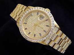 mens gold and diamond watches best watchess 2017 rolex mens gold day date president 18038 beckertime main image diamond gucci ya101334 watch