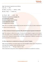 important questions for cbse class 10 science chapter 1 chemical reactions and equations