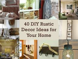 diy decor projects stunning diy rustic home decorating ideas