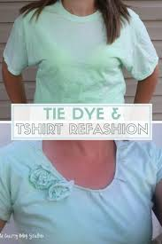 how to tie dye t shirt refashion attempt at ombre easy diy