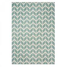 arlo ar05 chevron blue geometric rug by asiatic
