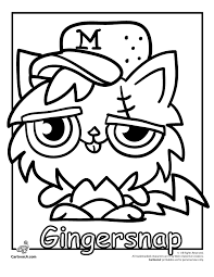 Small Picture Moshi Monsters Coloring Pages To Print Coloring Home