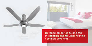 how to install a ceiling fan step by step guide from anchor by panasonic blog