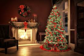 Full Size of Living Room:christmas Tree In Living Room Holiday Decorating  Ideas To Showcase ...