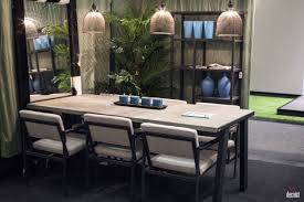 light and dark blue vases gray dining rug black white dining chair 3 unique pendant lights open shelveirrror bring breeziness to the dining space